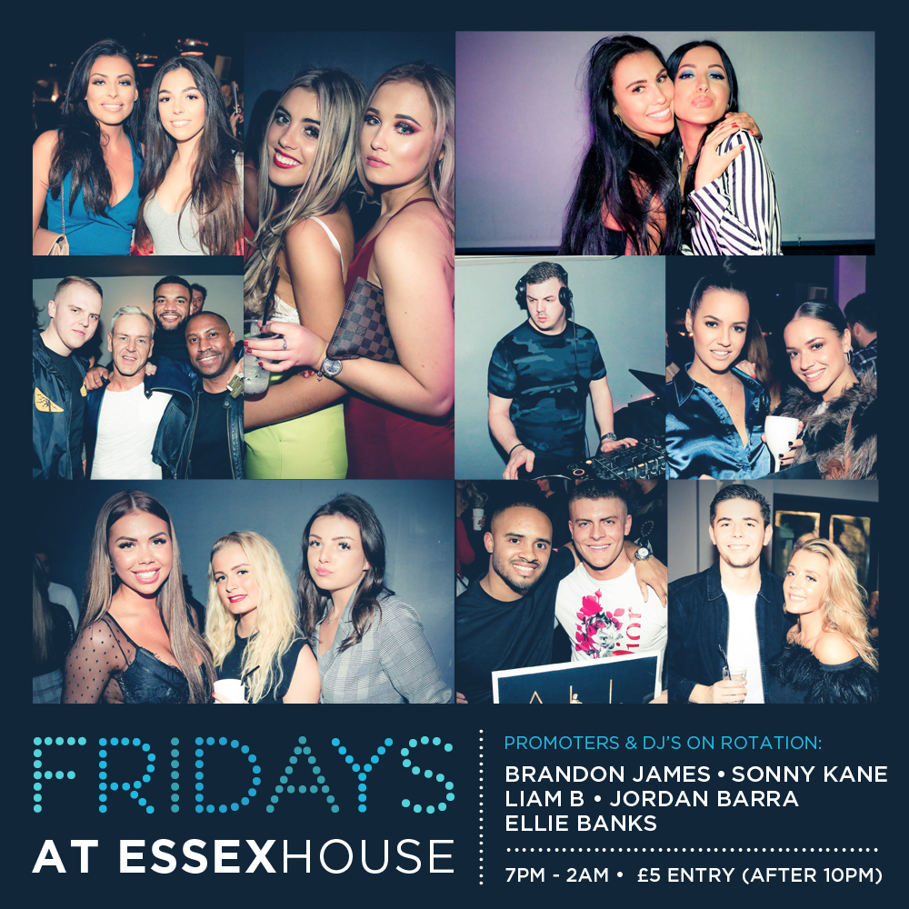 Fridays at Essex House Mar 19 A6 Sq 20%