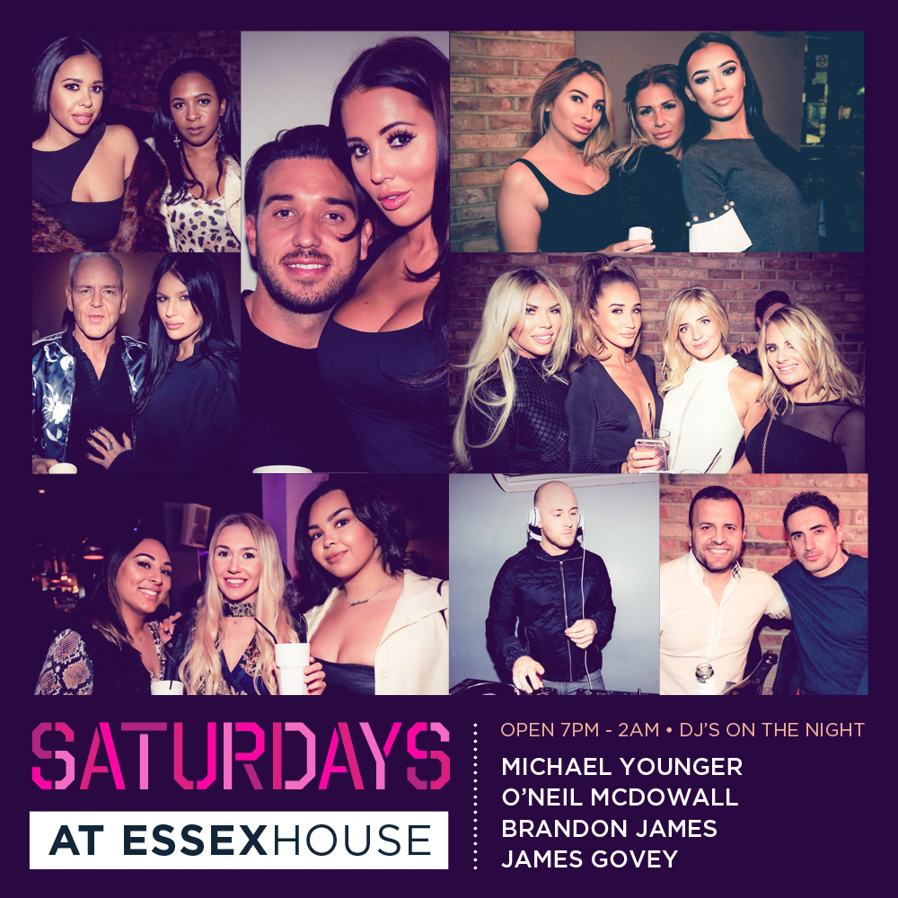 Saturdays at Essex House Mar 19 A6 Sq 20%